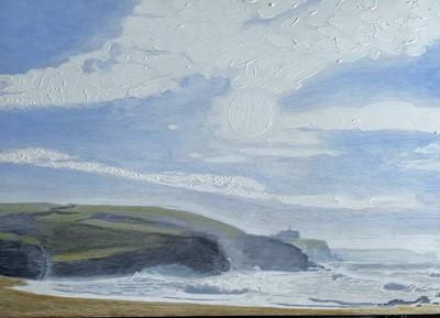 Lot 24 - James THORBURN Sea Sprayed Church Cove Acrylic...