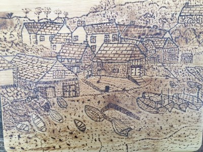 Lot 41 - Ray SKEWES Cadgwith - view from the Todden...