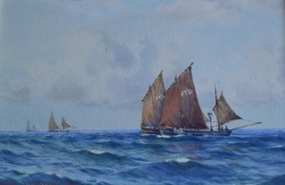 Lot 22 - Samuel John Milton BROWN (1873-1963) Fowey...