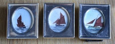 Lot 30 - Claudia WYATT Untitled Set of three tiny...
