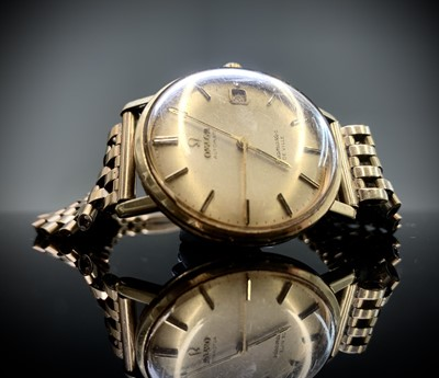 Lot 103 - An Omega gold and stainless steel gentleman's...