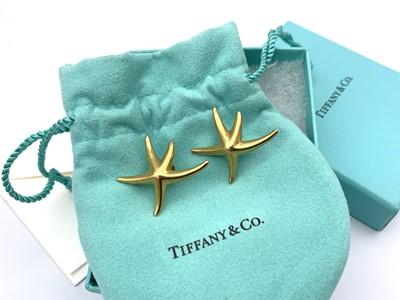 Lot 9 - 18ct gold Tiffany, Elsa Peretti large starfish...
