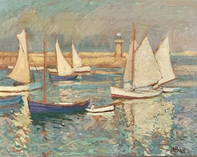 Lot 85 - John Anthony PARK (1880-1962) St Ives Harbour...