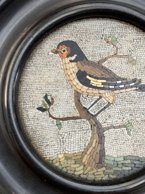 Lot 170 - An 18th or early 19th century micro mosaic...
