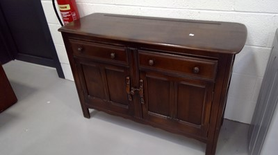 Lot 3 - An Ercol Old Colonial sideboard or low dresser...