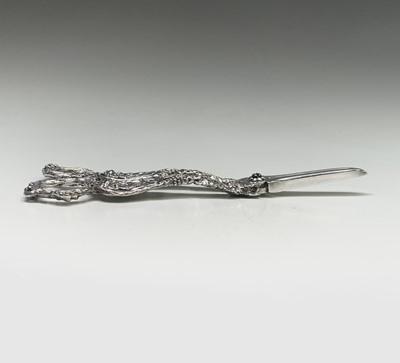 Lot 1035 - A pair of grape scissors by Francis Higgins....