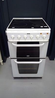 Lot 8 - A Creda free-standing double oven cooker...