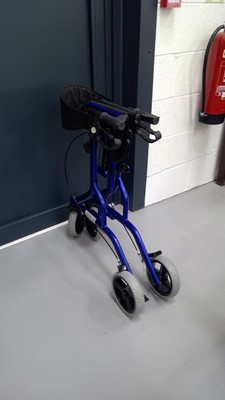 Lot 10 - Z-Tec three wheel mobility walker