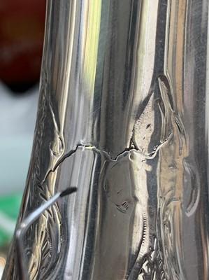 Lot 1000 - An elegant silver wine ewer by Edward & John...
