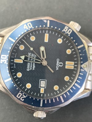 Lot 203 - An Omega Seamaster Professional 300 1061...
