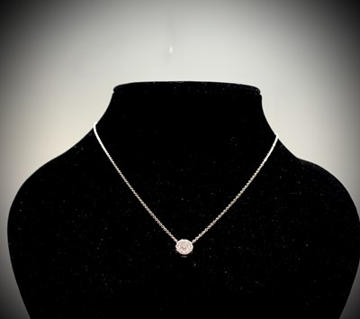Lot 49 - An 18ct white gold Hearts On Fire Fulfillment...