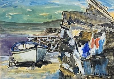 Lot 141 - Charles BREAKER (1906-1985) Harbour Scene...