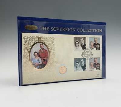 Lot 19 - Great Britain Commemorative Coin/Stamp Cover -...