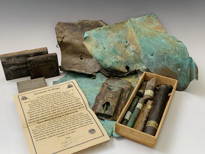 Lot 207 - Maritime Interest etc - A crate containing...