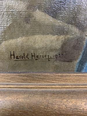 Lot 178 - Harold C. HARVEY (1874-1941) Portrait of Clara...