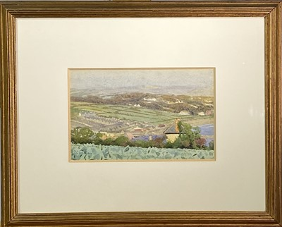 Lot 30 - Thomas Cooper GOTCH (1854-1931) Fields Above...