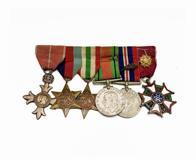 Lot 212 - Group of 6:- OBE, 2nd World War and Defence...