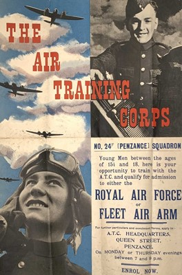 Lot 215 - Cornwall Local Interest - A WWII period Royal...
