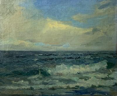 Lot 99 - Richard Hayley LEVER (1876-1958) Waves...