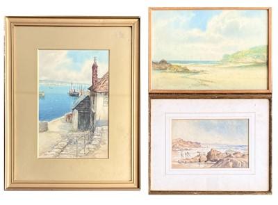 Lot 142 - Frederick PARR (1887-1970) Newlyn Watercolour...