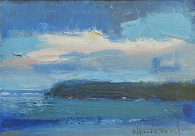 Lot 131 - Robin LEONARD (1960) Cornish Coast Acrylic...