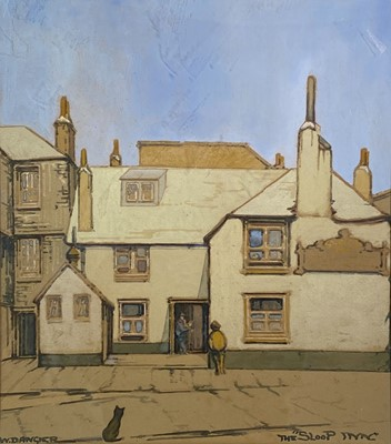 Lot 172 - W Donald ANGIER (XX) The Sloop Inn, St Ives...