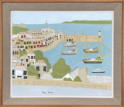 Lot 47 - Bryan PEARCE (1929-2006) St Ives from Barnoon...