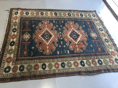 Lot 23 - A Turkish rug 250cm x 293cm.