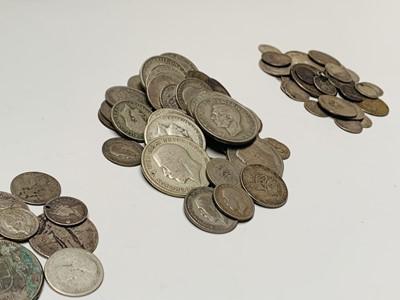 Lot 34 - G.B. Silver - Lot comprises £2.40 of pre 1947...