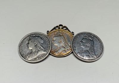 Lot 36 - GB Victorian Silver Coins: Lot comprises 1889...