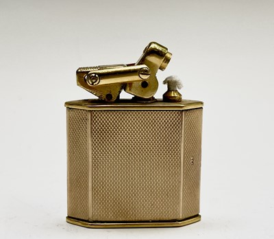 Lot 44 - A 9ct gold Karl Weiden cigarette lighter,...