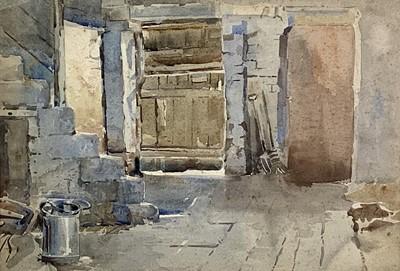Lot 121 - John Gutteridge SYKES (1866-1941) 'Barn...