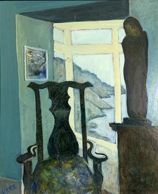 Lot 129 - Judith KERR, 'The Artist's Chair, Lamorna' Oil...