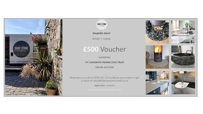 Lot 92 - £500 voucher for Bespoke Stone ...