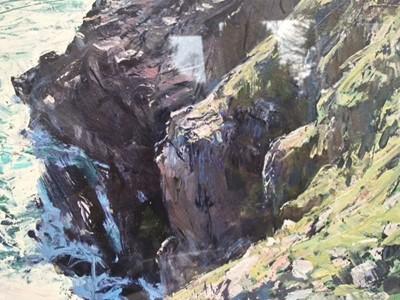 Lot 49 - Paul LEWIN Kynance Cove Print 53 x 43cm...