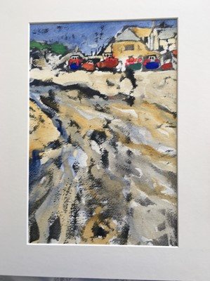 Lot 59 - Sally BASSETT High and Dry, Cadgwith Printing...