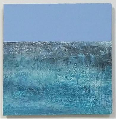 Lot 68 - Lynette PIERCEInto The BlueAcrylic on board24...