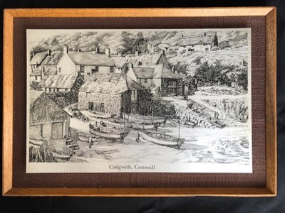 Lot 33 - Geoffrey HUBAND (1945) Wendon Forge, Cadgwith...