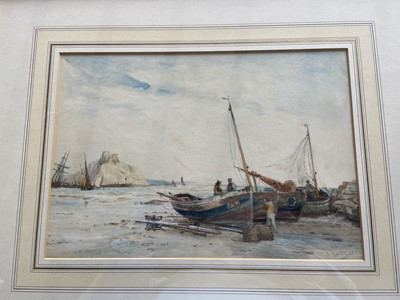 Lot 79 - Thomas BUSH HARDY (1842-1897) Holy Island...