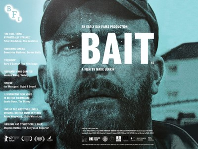 Lot 3 - A Bait poster signed by Mark Jenkin and...