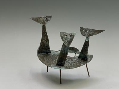 Lot 55 - William BLACK (20th Century British) 'Figures...