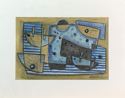 Lot 64 - William BLACK (20th Century British) 'Boats on...
