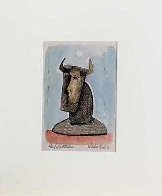 Lot 71 - William BLACK (20th Century British) 'Head of...