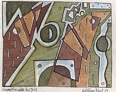 Lot 76 - William BLACK (20th Century British)...