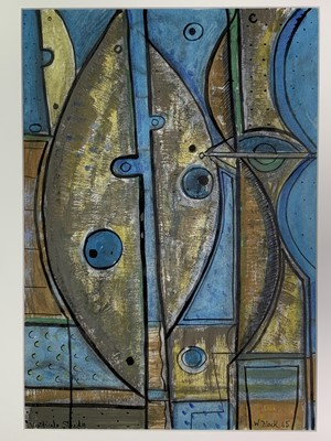 Lot 79 - William BLACK (20th Century British) 'Vertical...