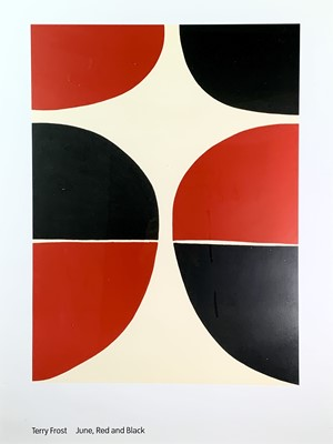 Lot 22 - Terry FROST (1915-2003) June, Red and Black...
