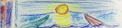 Lot 179 - Terry FROST (1915-2003) Sun and Boats Mixed...