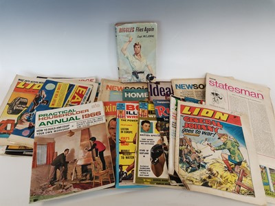 Lot 2 - 'Biggles Flies Again' by W.E. Johns and a...