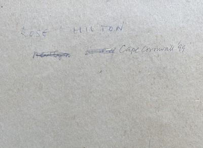 Lot 13 - Rose HILTON (1931-2019) Cape Cornwall Oil on...