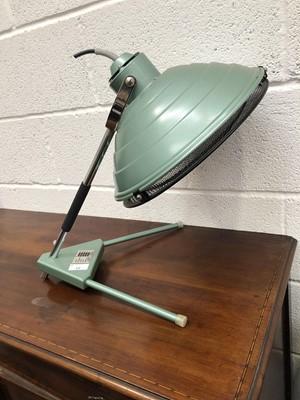 Lot 12 - A vintage Hanovia UV heat lamp.
